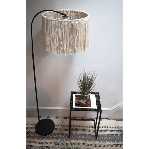 tassel fringe light shade pula 40cm