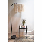 fringe light shade - boho lighting uk Pula 40cm