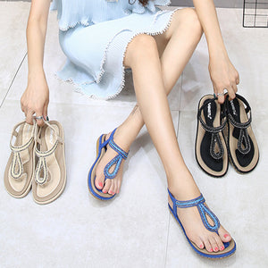 2019 Women's Bohemian Style Starry Diamonds Sandals