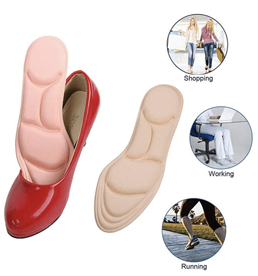 4D Full Support Insole - esilvia