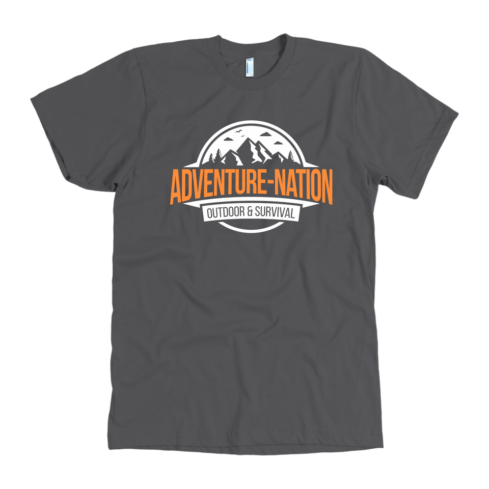 Adventure-Nation American Apparel Shirt - Asphalt / S - T-Shirt