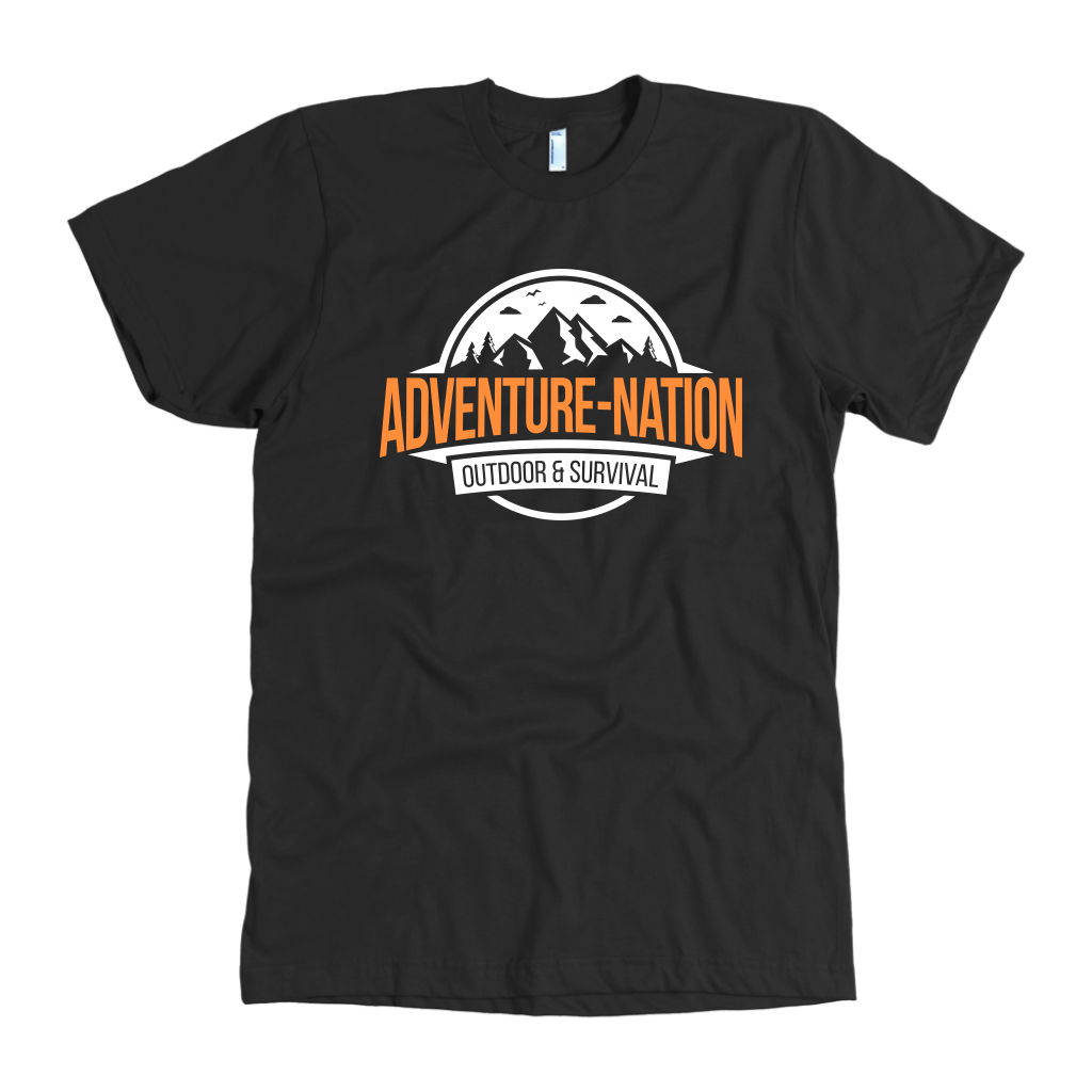 Adventure-Nation American Apparel Shirt - Black / S - T-Shirt