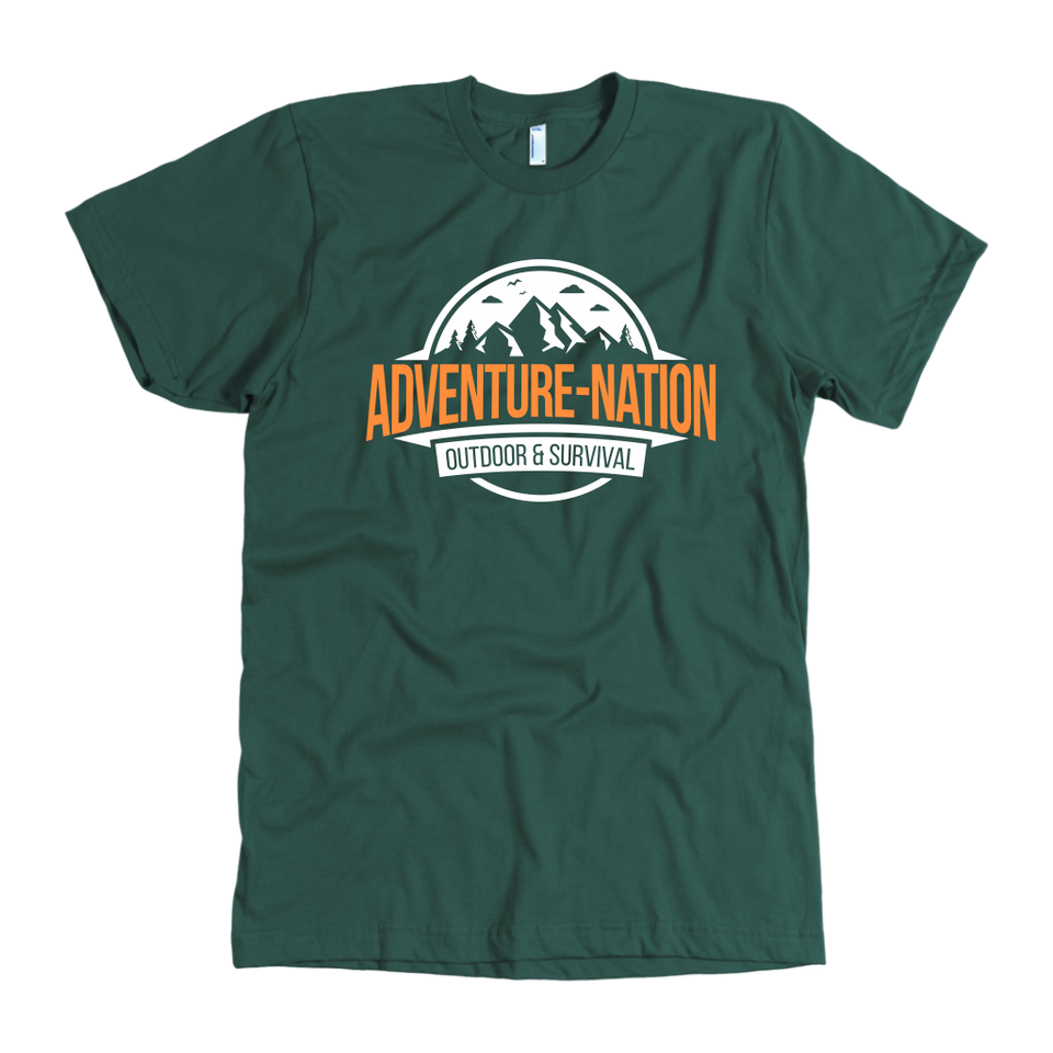 Adventure-Nation American Apparel Shirt - Forest / S - T-Shirt
