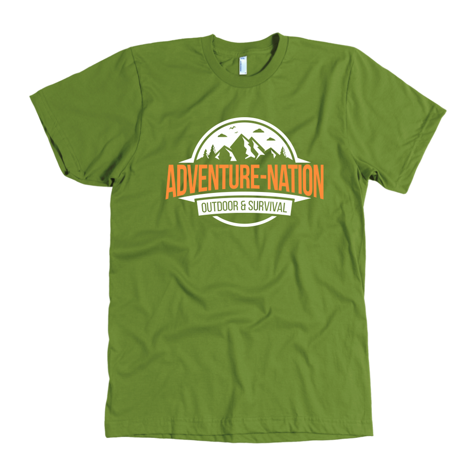 Adventure-Nation American Apparel Shirt - Olive / S - T-Shirt
