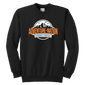 Adventure-Nation Crewneck Sweatshirt - Youth Crewneck Sweatshirt / Black / Xs - T-Shirt