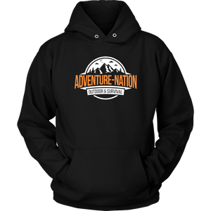 Adventure-Nation Hoodie - Unisex Hoodie / Black / S - T-Shirt