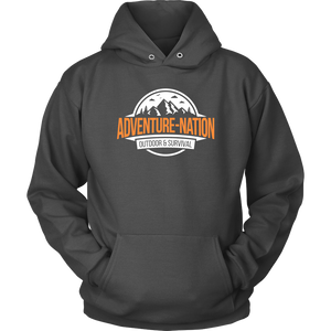 Adventure-Nation Hoodie - Unisex Hoodie / Kelly Green / S - T-Shirt