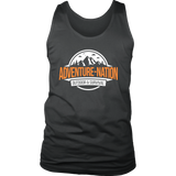 Adventure-Nation Mens Tank - District Mens Tank / Charcoal / S - T-Shirt