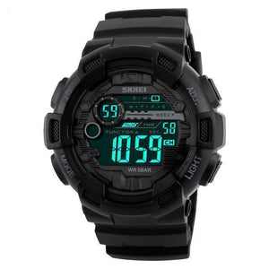 D-Tec1 | High Performance Chrono Watch - Black - Watch