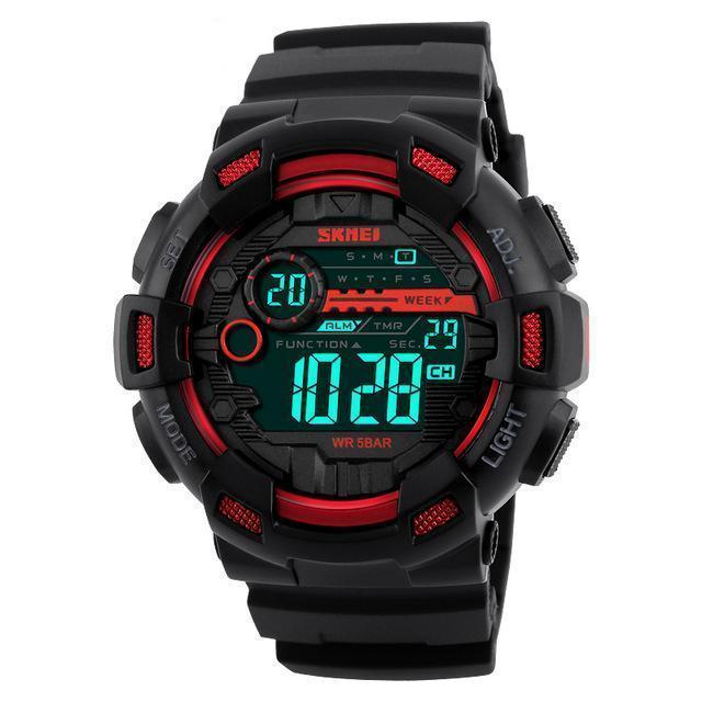D-Tec1 | High Performance Chrono Watch - Red - Watch
