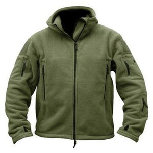 Fl1 | Thermal Fleece Jacket - Army Green / S - Jacket
