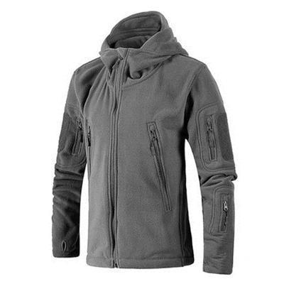 Fl1 | Thermal Fleece Jacket - Grey / S - Jacket
