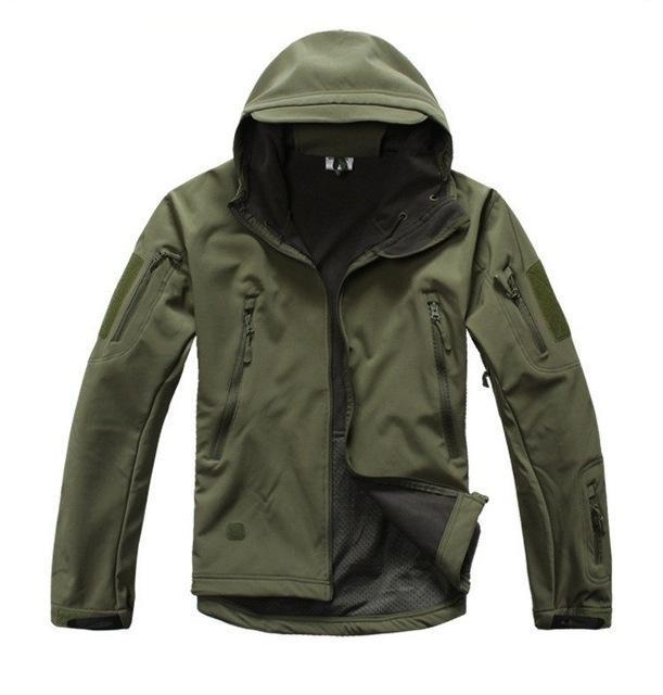 Ga-2 | Waterproof Tactical Softshell Jacket - Army Green / Xs - Jacket