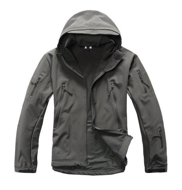 Ga-2 | Waterproof Tactical Softshell Jacket - Grey / Xs - Jacket