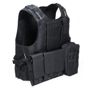 Gz1-Tac | Tactical Hunting Vest - Black - Vest