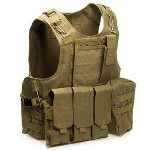 Gz1-Tac | Tactical Hunting Vest - Khaki - Vest