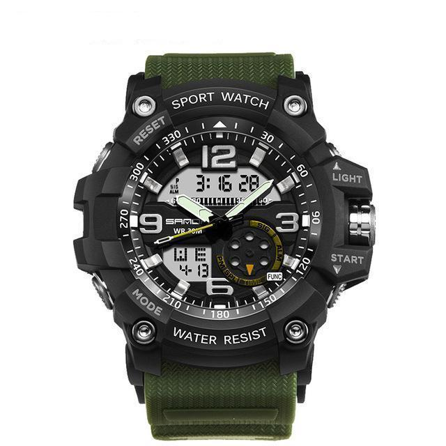 Kt4 | Military Style Watch - Army Green - Watch