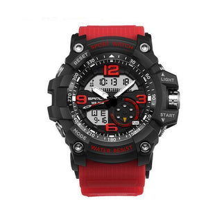Kt4 | Military Style Watch - Red - Watch