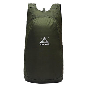 Portable Easy To Store Backpack - Army Green - Backpack