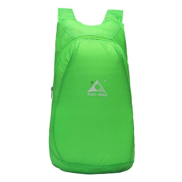 Portable Easy To Store Backpack - Green - Backpack