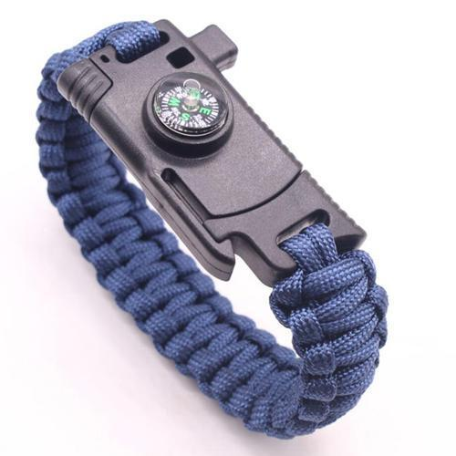 Rc-T | Survival Bracelet - Blue - Gadget