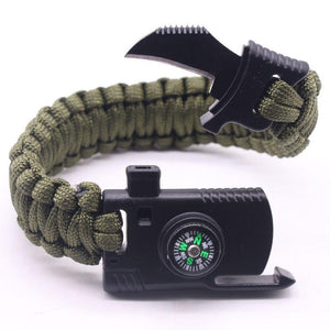 Rc-T | Survival Bracelet - Green - Gadget