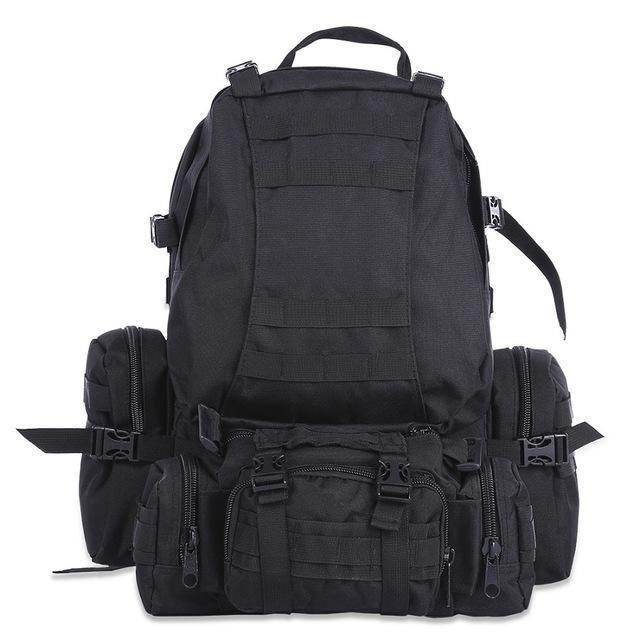 Rk2-M | Modular Outdoor Backpack - Black - Backpack