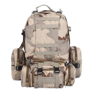 Rk2-M | Modular Outdoor Backpack - Desert-Camo - Backpack