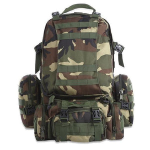 Rk2-M | Modular Outdoor Backpack - Woodland - Backpack