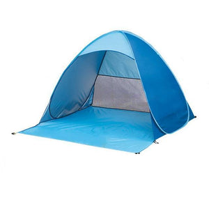 Sunport | Portable Pop Up Sunshelter - Blue And Black - Tent