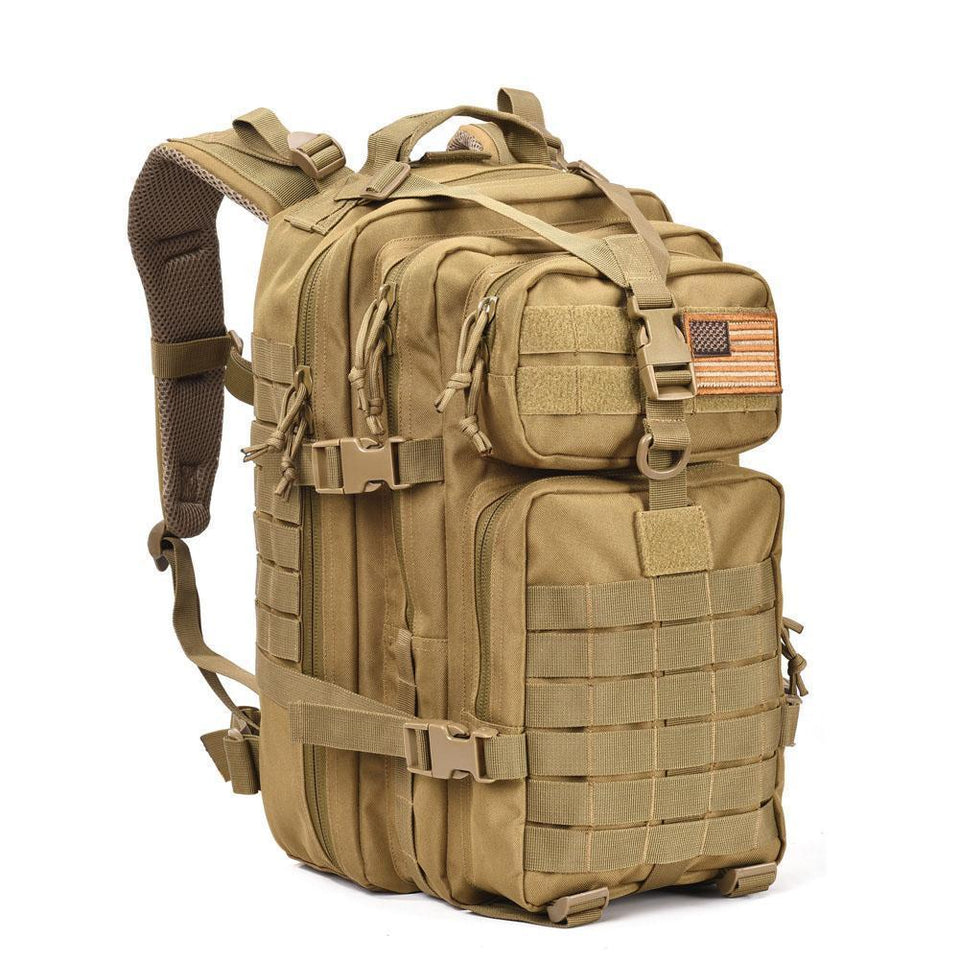 Tacslim V3 | Outdoor Backpack | 34L - Brown - Backpack