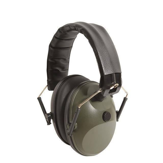 Tc-Ln1 | Adjustable Hunting Earmuff - 1Xmicrophone Not Adjustable Khaki - Gadget