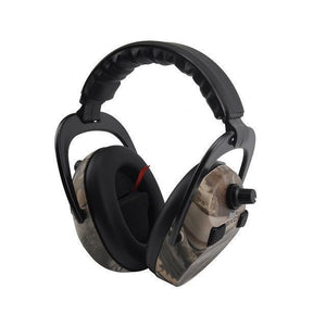 Tc-Ln1 | Adjustable Hunting Earmuff - 4Xmicrophone Adjustable Camo - Gadget