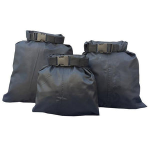 Waterproof Storage Bag Set - 3X Black - Bag