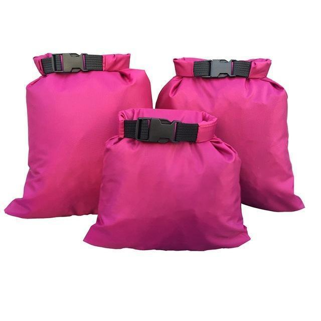 Waterproof Storage Bag Set - 3X Purple - Bag
