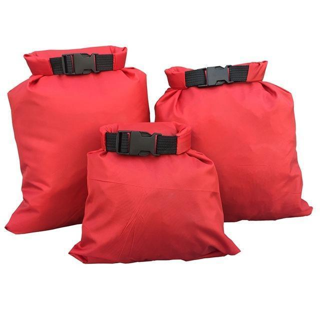 Waterproof Storage Bag Set - 3X Red - Bag