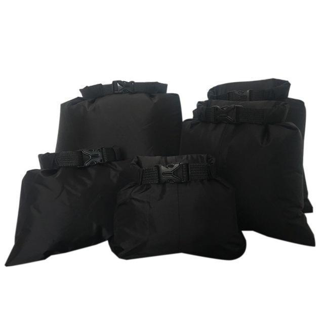 Waterproof Storage Bag Set - 5X Black - Bag
