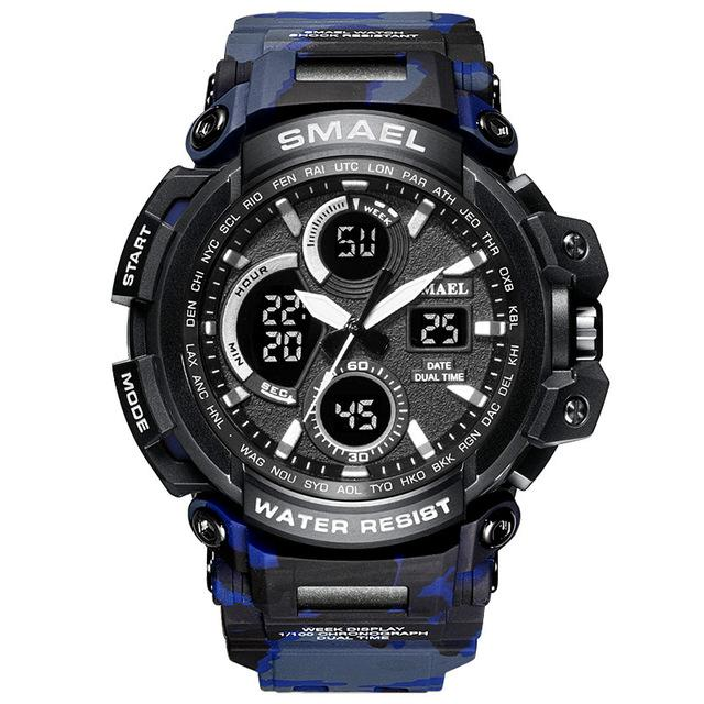 Xt5-Professional | Warrior Tactical Watch - Camo Blue - Watch