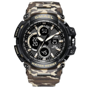 Xt5-Professional | Warrior Tactical Watch - Camo Kahki - Watch