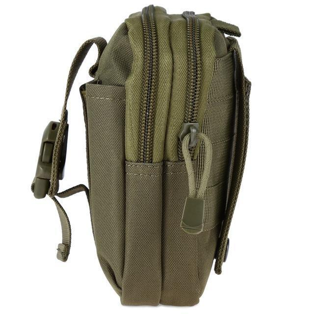 Zk-3 | Military Style Waist/molle/belt Bag - Army-Green - Bag