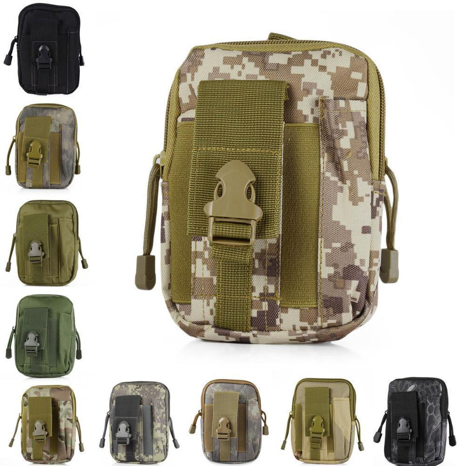 Zk-3 | Military Style Waist/molle/belt Bag - Bag