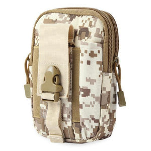 Zk-3 | Military Style Waist/molle/belt Bag - Marpat-Desert-Camo - Bag