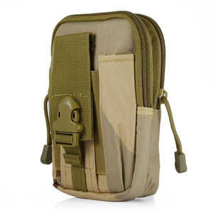 Zk-3 | Military Style Waist/molle/belt Bag - Three-Sand-Camo - Bag