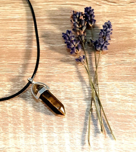 crystal pendants - Tiger Eye