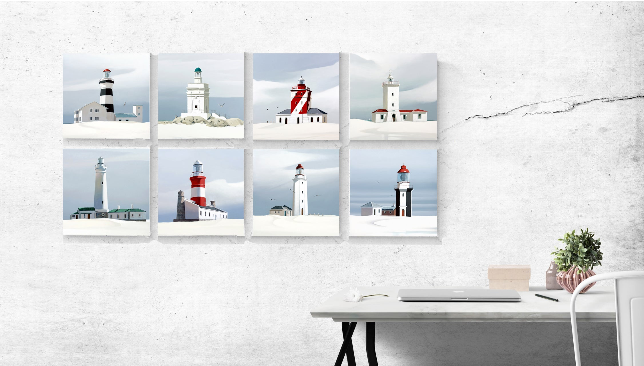 Cape Coastal Lighthouse Collection