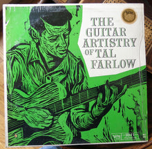 Tal Farlow ‎– The Guitar Artistry Of Tal Farlow - Verve