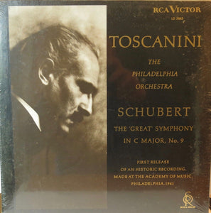 Schubert the Great Symphony in C Major No 9 Toscanini - RCA Victor