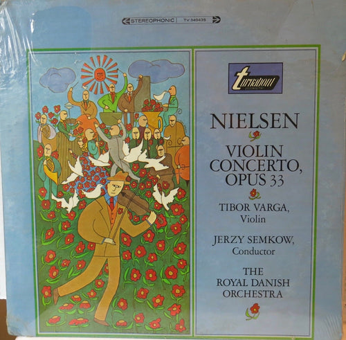 Nielsen Violin Concerto Opus 33 - Turnabout