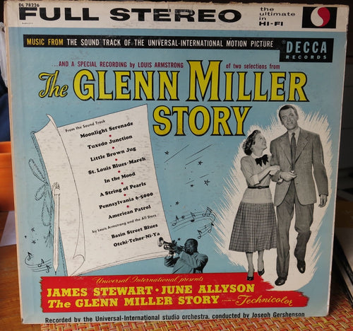 The Glenn Miller Story - Soundtrack LP 1954 - Decca