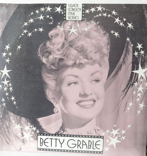 Betty Grable - Silver Screen Star Series - Vintage LP Record - Curtain Calls